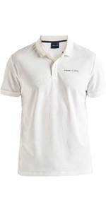 2020 Henri Lloyd Mens Fremantle Stripe Polo Cloud White P191104010