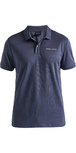 2020 Henri Lloyd Mens Fremantle Stripe Polo Navy Blue P191104010