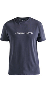 2019 Henri Lloyd Mens Fremantle Stripe Tee Navy Blue P191104009
