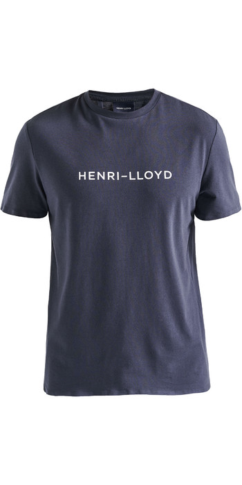2020 Henri Lloyd Mens Fremantle Stripe Tee Navy Blue P191104009