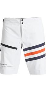 2020 Henri Lloyd Mens Fremantle Stripes Gore-Tex Shorts Cloud White P191105007