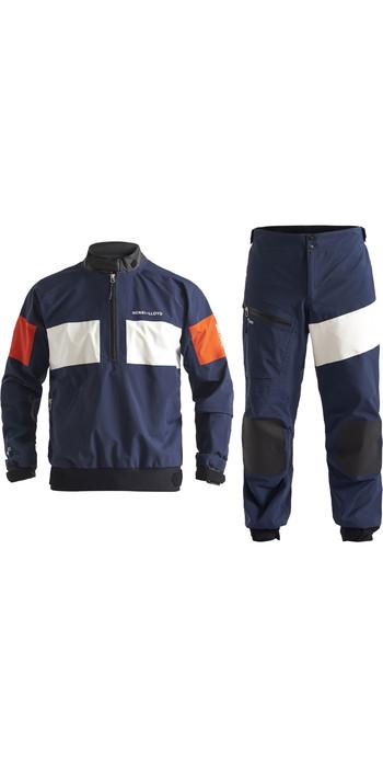 2020 Henri Lloyd Mens M-Pro 3 Layer Gore-Tex Jacket & Trouser Combi Set - Navy