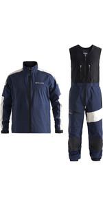 2020 Henri Lloyd Mens M-Race / M-Pro 3 Layer Gore-Tex Jacket & Trouser Combi Set - Navy