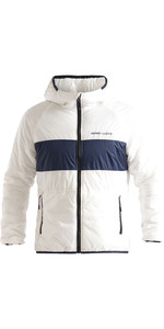 2020 Henri Lloyd Mens Maverick Hooded Liner Mid Layer Jacket P201110055 - Cloud White