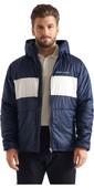 2020 Henri Lloyd Mens Maverick Hooded Liner Mid Layer Jacket P201110055 - Navy Block