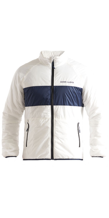 2020 Henri Lloyd Mens Maverick Liner Mid Layer Jacket P201110054 - Cloud White