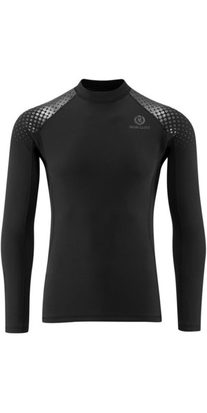 2019 Henri Lloyd Shadow 0.5mm Neoprene Long Sleeve Top Black Y30353