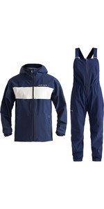 2020 Henri Lloyd Womens M-Course 2.5 Layer Inshore Jacket & Trouser Combi Set - Navy