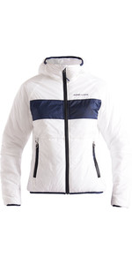 2020 Henri Lloyd Womens Maverick Hooded Liner Mid Layer Jacket P201210058 - Cloud White