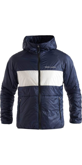 2020 Henri Lloyd Womens Maverick Hooded Liner Mid Layer Jacket P201210058 - Navy Block