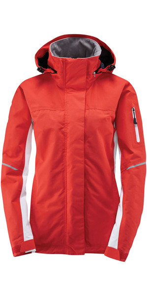 2019 Henri Lloyd Womens Sail 2.0 Inshore Coastal Jacket New Red YO200021