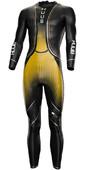 2021 Huub Mens Brownlee Agilis Triathlon Wetsuit + TT Bag FRE35G - Gold