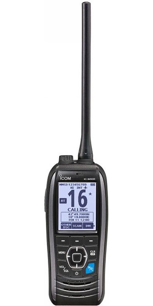 2019 ICOM M93D Waterproof Handheld VHF / DSC Radio Grey VHF0167
