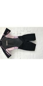 GUL Response Womens 3/2 Shorty Wetsuit Flatlock In Black / Pink