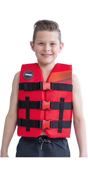 2021 Jobe Junior 50N Impact Vest 244820002 - Red