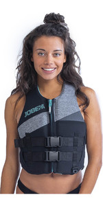 2020 Jobe Womens 50N Neoprene Impact Vest 244920015 - Cool Grey