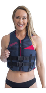 2020 Jobe Womens 50N Neoprene Impact Vest 244920016 - Midnight Blue
