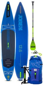 2021 Jobe Aero Neva 12'6 Stand Up Paddle Board Package - Board, Bag, Pump, Paddle & Leash