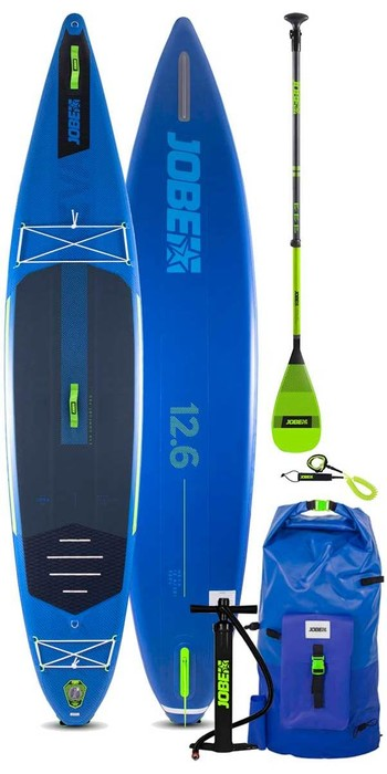2021 Jobe Aero Neva 12'6 Stand Up Paddle Board Package - Board, Bag, Pump, Paddle & Leash