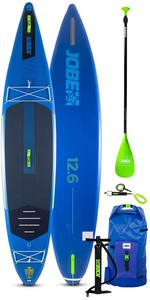 2021 Jobe Aero Neva 12'6 Inflatable SUP Package 486421015 - Board, Bag, Pump & Paddle