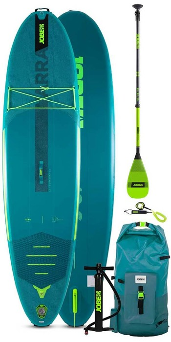 2021 Jobe Aero Yarra 10'6 Stand Up Paddle Board Package - Board, Bag, Pump, Paddle & Leash