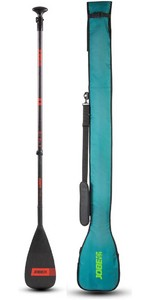 2021 Jobe Carbon Pro 3-Piece SUP Paddle With Travel Bag 486721001
