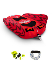 2020 Jobe Hydra 1 Person Towable Package 238820003 - Red