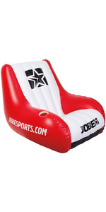 Jobe Inflatable Chair - Red / White