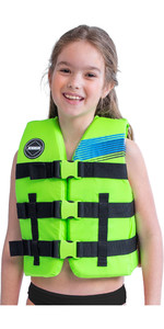 2020 Jobe Junior 50N Impact Vest 244820004 - Lime Green