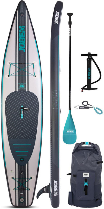2020 Jobe Neva 12'6 Inflatable SUP Package - Board, Bag, Pump & Paddle