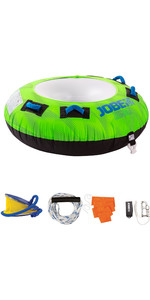 2021 Jobe Rumble 1 Person Towable Package 238820001 - Green