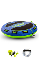 2021 Jobe Storm 2 Person Towable Package 238820005 - Blue / Green