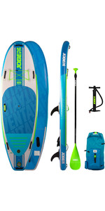 2020 Jobe Venta 9'6 Inflatable SUP Package - Board, Bag, Pump & Paddle