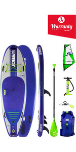 2019 Jobe Venta Windsurf Inflatable Stand Up Paddleboard 9'6 x 36