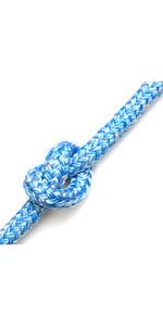 Kingfisher Braid on Braid Rope Melange Blue BM0B2 - Price per metre
