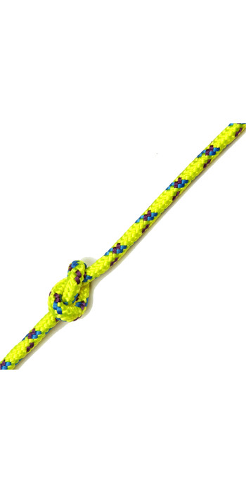 Kingfisher Evolution Performance Dinghy Rope Yellow CL0Y2 - Price per metre.