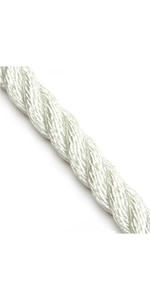 Kingfisher Mooring / Anchoring 3 Strand Nylon Rope White N3W1 - Price per metre