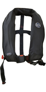 2020 Kru XF ISO Manual Life Jacket BLACK LIF7578