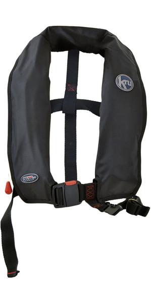 2018 Kru XF ISO Manual Life Jacket BLACK LIF7578
