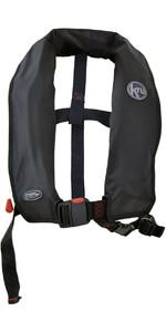 2020 Kru XF ISO Manual Life Jacket BLACK LIF7578