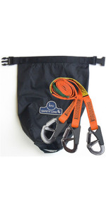 2019 Kru 3 Hook Safety Line HAR0004