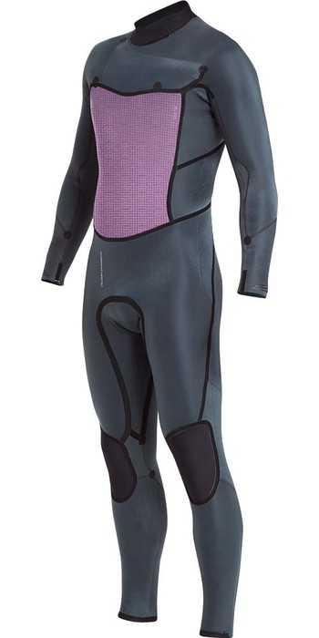 2019 Billabong Mens Furnace Absolute X 3/2mm Chest Zip Wetsuit Black L43M27