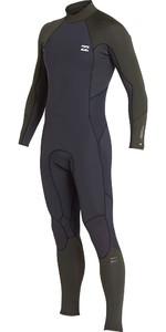 Billabong Furnace Absolute 5/4mm Back Zip Wetsuit Dark Olive L45M10