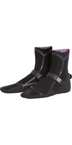 2018 Billabong Furnace Carbon Ultra 5mm Split Toe Boots Black L4BT19