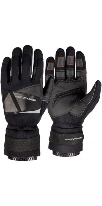 2021 Magic Marine Frost Winter Sailing Gloves - Black