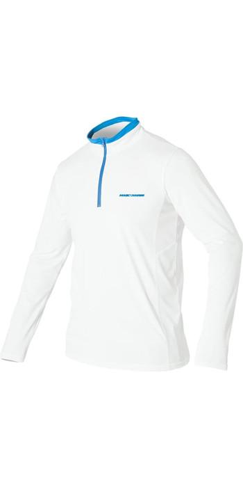 2021 Magic Marine Mens Admiral Long Sleeve T-Shirt White 160035