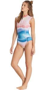 Billabong Womens 1mm Sleeveless Spring Shorty Wetsuit Mirage L41G02