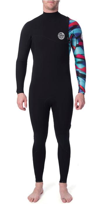 2019 Rip Curl E-Bomb 3/2mm Zip Free Wetsuit Multicolour WSM8RS
