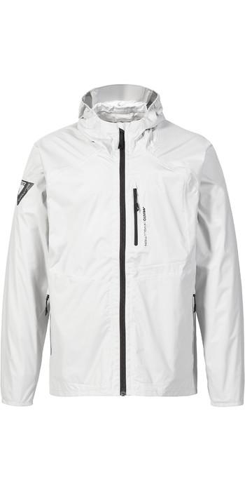 2021 Musto Mens Evo Packable Rain Jacket 82110 - Platinum
