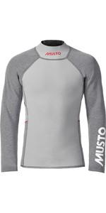 2021 Musto Mens Flexlite Vapour 1.0 Long Sleeve Wetsuit Top 82068 - Grey Marl